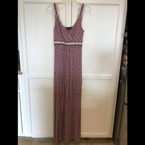 Cable & Gauge Maxi dress - size small